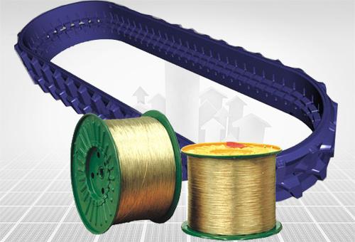 橡胶履带用钢帘线