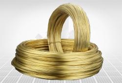 镀黄铜钢丝