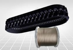 收割机履带钢帘线